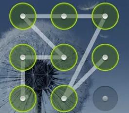 unique pattern lock shape