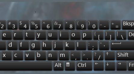 keyboard open onscreen keyboard windows