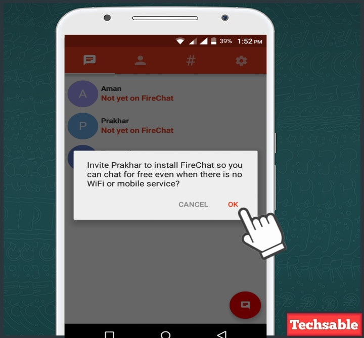 How to Chat Without Internet on Android