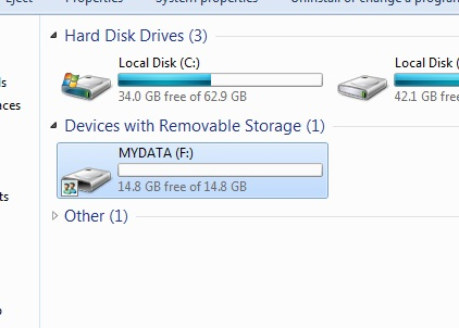 How to Increase USB Pendrive Storage