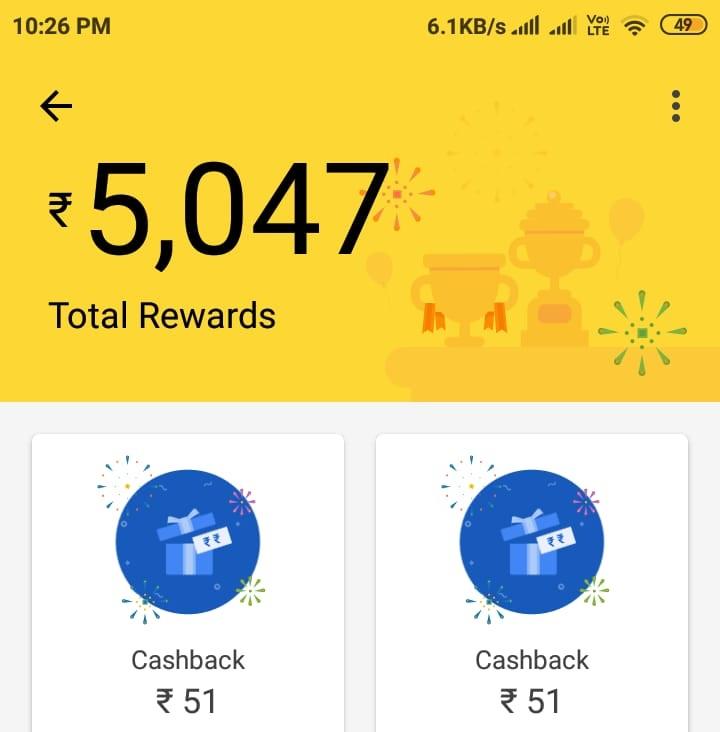 google pay rewards