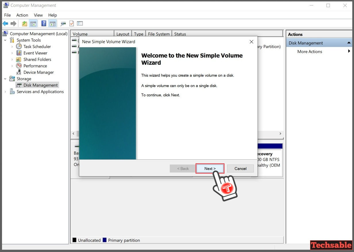 How to Create Hard Drive Partition in Windows 10